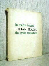 In marea trecere - The great transition - Lucian Blaga